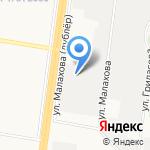 Цифровой формат на карте Барнаула