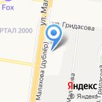 Лагуна на карте Барнаула
