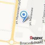 Сибирская биофабрика медицинских пиявок на карте Барнаула