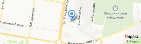 Комплект-Снаб на карте Барнаула