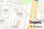 Схема проезда до компании Гламелия в Барнауле
