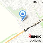 К & К на карте Барнаула
