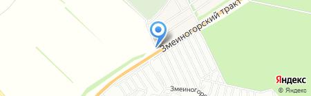 Сеть ритуальных магазинов на карте Барнаула