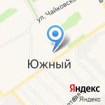 Амфибия на карте Барнаула