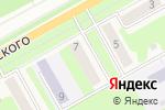 Схема проезда до компании Мирный в Барнауле