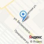 Фрегат на карте Барнаула