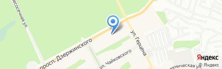 Нотариус Абрамова О.А. на карте Барнаула