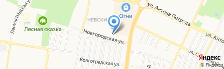 Центр Восток на карте Барнаула