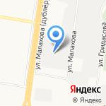Лента-Пром на карте Барнаула