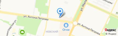 Пивковъ на карте Барнаула