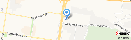 АвтоМаг на карте Барнаула