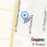 АЗТИ на карте Барнаула