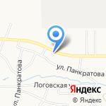 ГорГазТорг на карте Барнаула