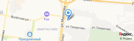ДЖИЛИ ЦЕНТР АЛТАЙ на карте Барнаула