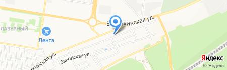 Добрая банька на карте Барнаула