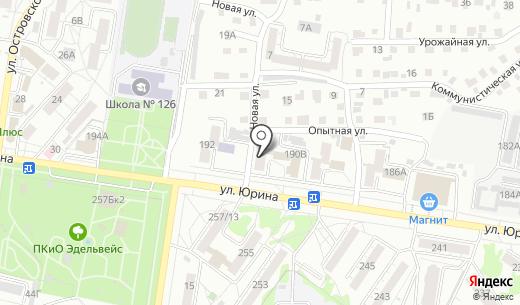 Апельсинка. Схема проезда в Барнауле