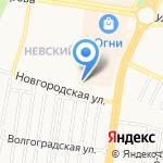 Пит-Стоп Невский на карте Барнаула