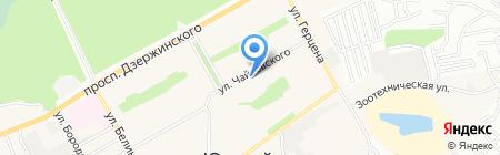Торговая площадь на карте Барнаула