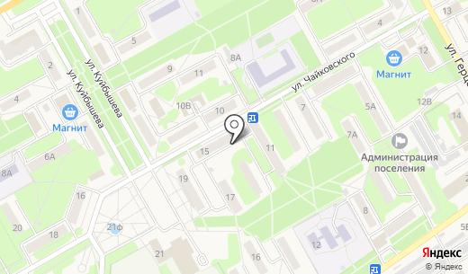 Торговая площадь. Схема проезда в Барнауле