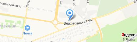 BRP Центр Барнаул на карте Барнаула