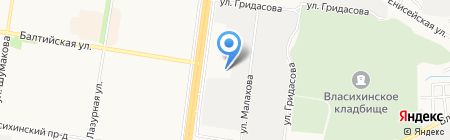 Лук и арбалет на карте Барнаула