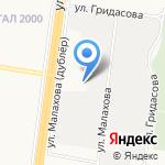 Кузнечный двор на карте Барнаула