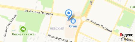 АлтРОСТ на карте Барнаула