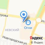 Ларде на карте Барнаула