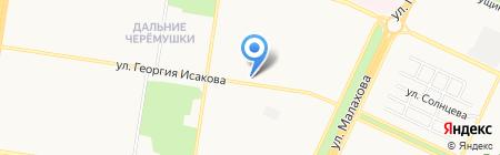 Ност на карте Барнаула