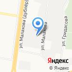 АЛТАЙЛЕСТЕХМАШ на карте Барнаула