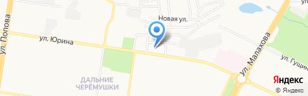 Юридический кабинет Руссковой О.В. на карте Барнаула