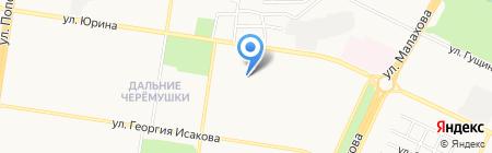Детский сад №145 на карте Барнаула