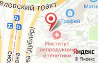 Схема проезда до компании У Кузьмича в Барнауле