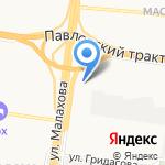 Олана+ на карте Барнаула