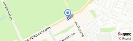 Южный портал на карте Барнаула