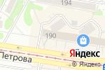 Схема проезда до компании Robot22 в Барнауле
