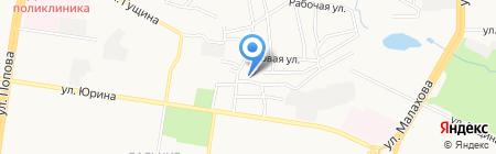 Продукты Плюс на карте Барнаула