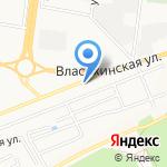 НаСтрой на карте Барнаула