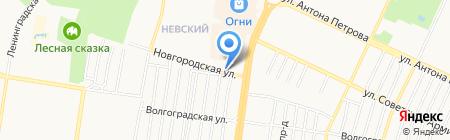 Formula на карте Барнаула