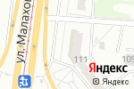 Схема проезда до компании ЗдравСити в Барнауле