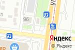 Схема проезда до компании Глория в Барнауле