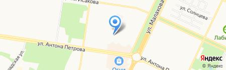 Клиентская служба на карте Барнаула