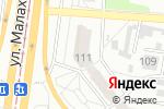 Схема проезда до компании Акцепт в Барнауле