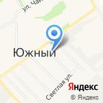 Магазин молочной продукции и колбасных изделий на карте Барнаула