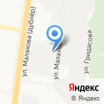 Барнаульские семечки на карте Барнаула