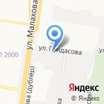 Магик на карте Барнаула