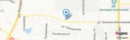 Пивное море на карте Барнаула