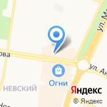 Алина на карте Барнаула