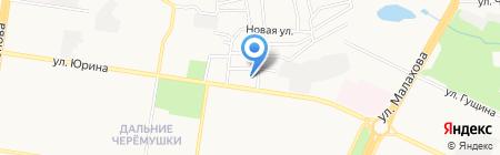 Аптечный пункт на карте Барнаула