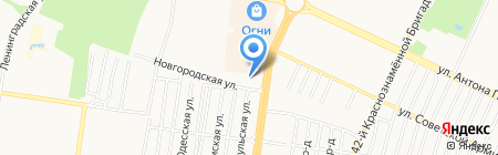 ААСС-АвтоАргонСварСервис на карте Барнаула